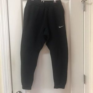 Nike black joggers sweatpants. Size small.